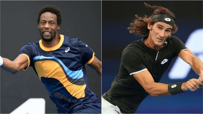 Gael Monfils vs Lloyd Harris in first round at the Lyon Open 2021