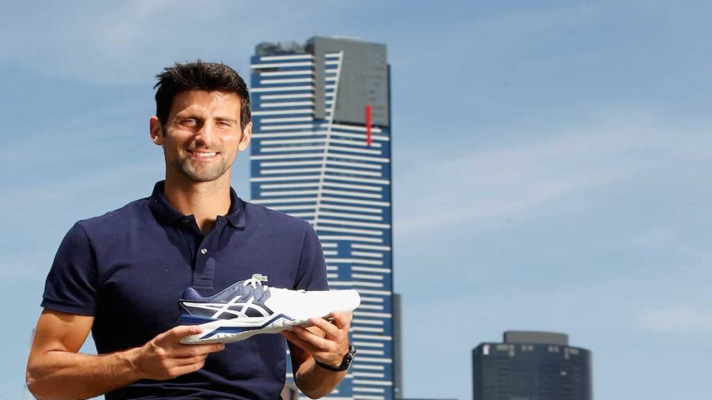 Novak Djokovic Net Worth: Novak Djokovic has a sponsorship with Asics