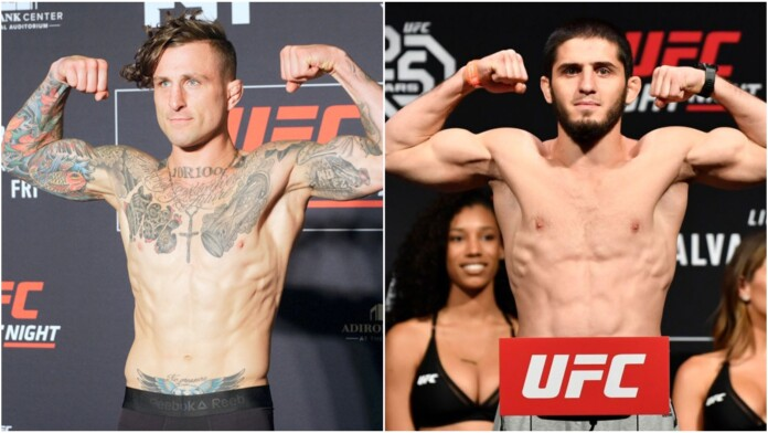 Gregor Gillespie and Islam Makhachev