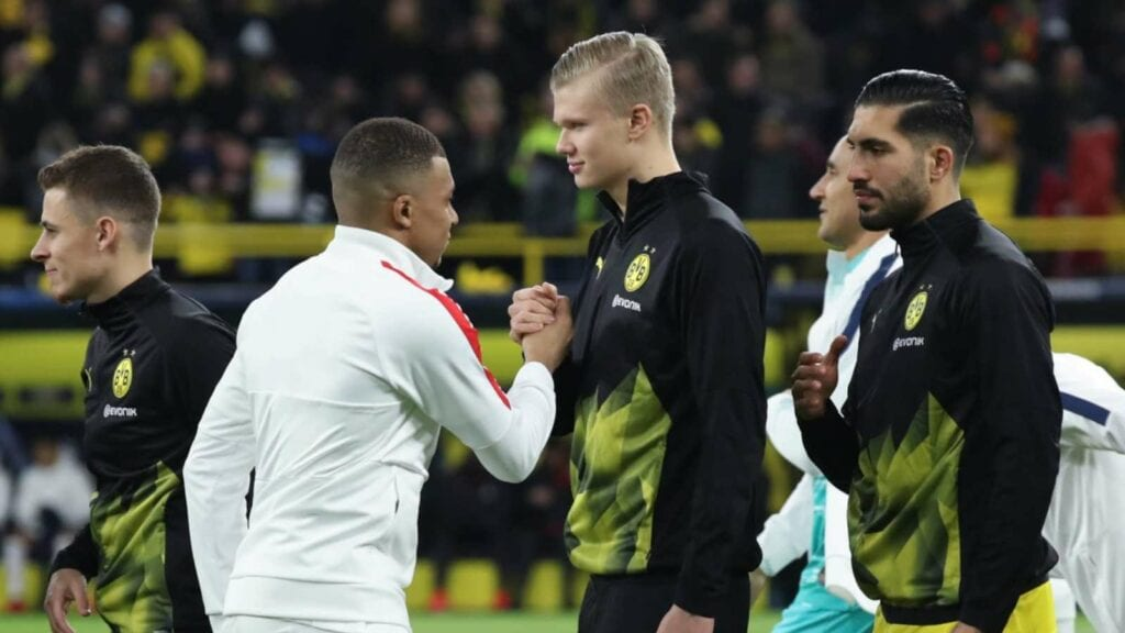 Haaland and Mbappe - FirstSportz