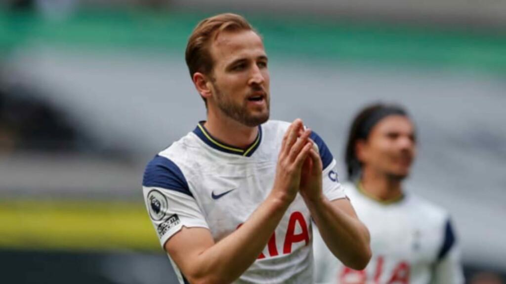Harry Kane looks to leave Tottenham