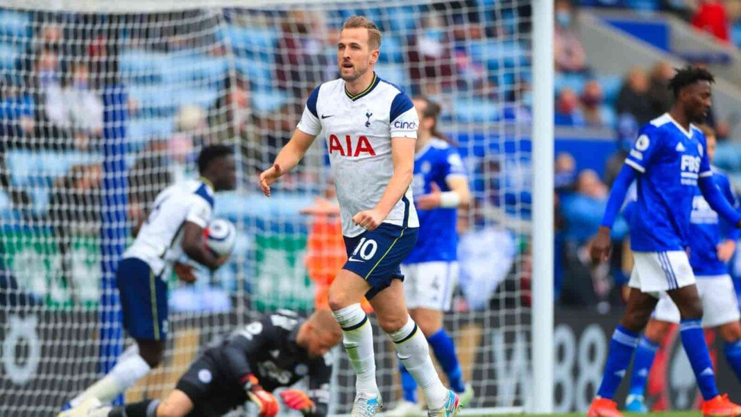 Harry Kane with his goal