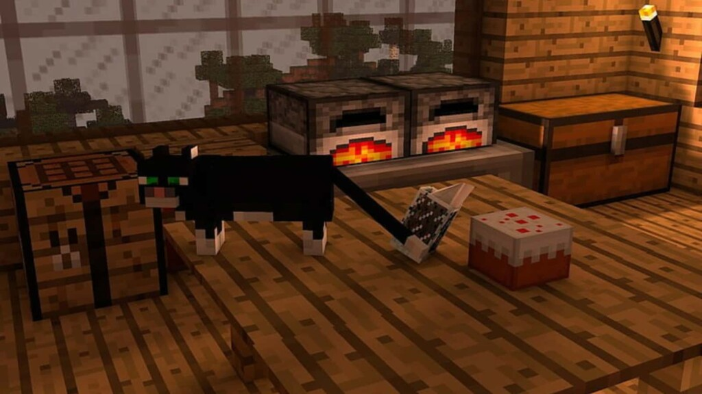 How to tame a Cat in Minecraft 2 - FirstSportz