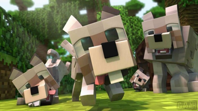 How to tame a dog in Minecraft