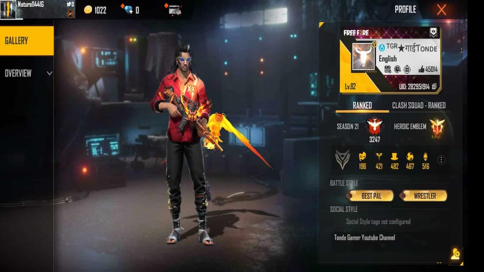 Tonde Gamer Free Fire