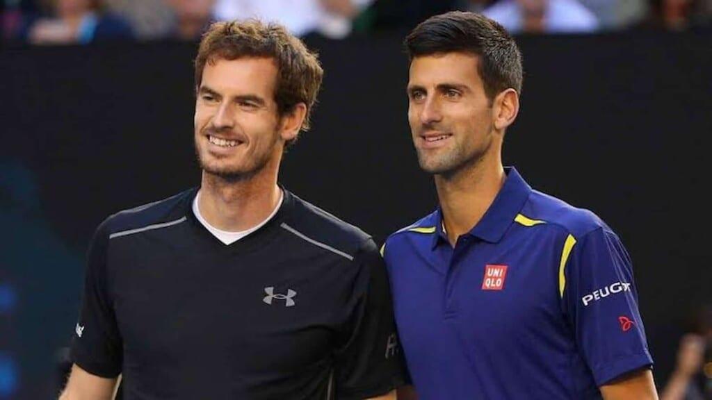 Andy Murray, Novak Djokovic