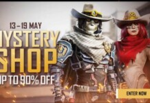 free fire mystery shop in may 2021