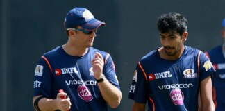 Shane Bond and Jasprit Bumrah
