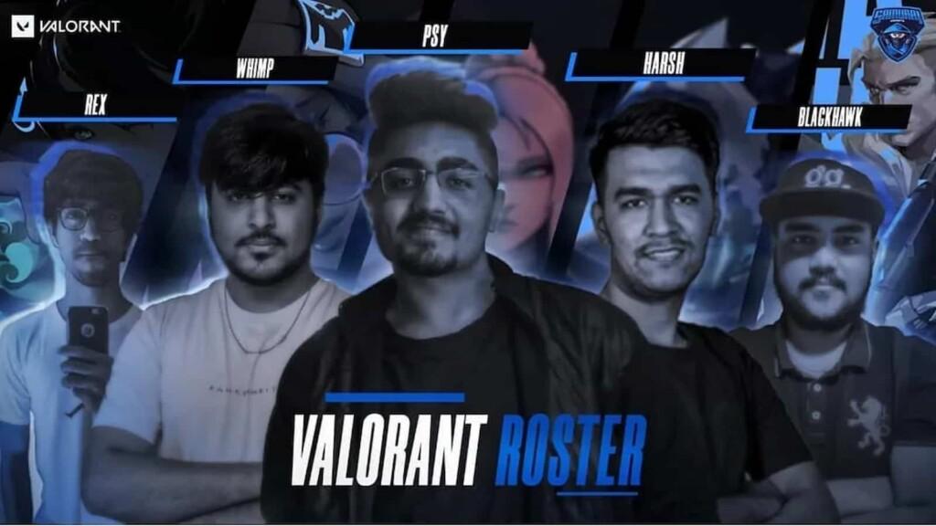 Top 5 Indian Valorant Teams