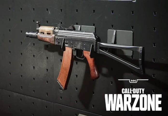 best ak74u loadout in call of duty warzone season 3