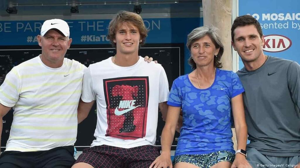 Alexander Zverev Family