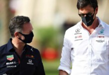 Christian Horner and Toto Wolff