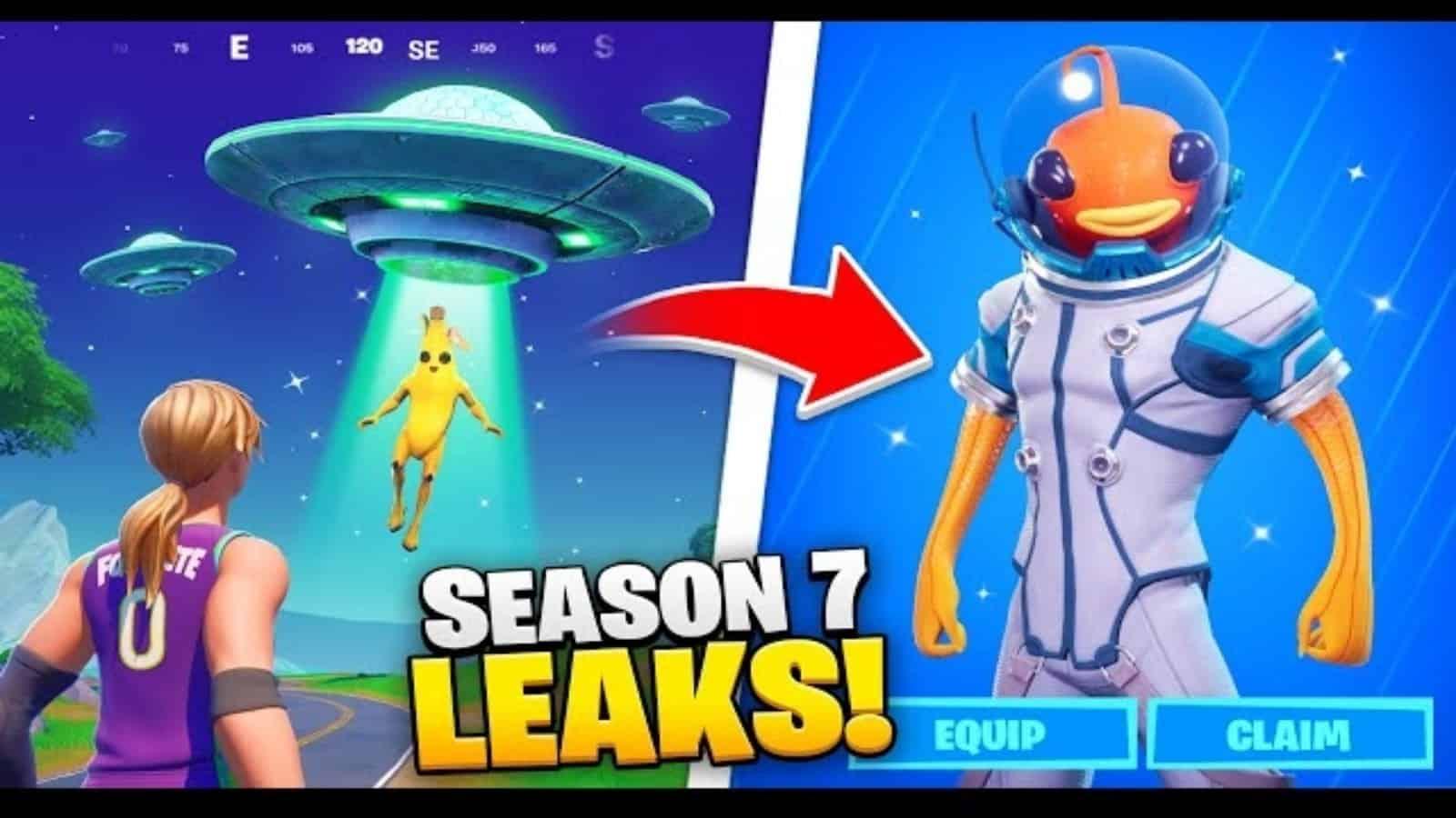 Fortnite Season 7 Leaks