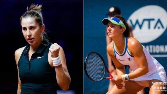 Belinda Bencic and Nadia Podoroska