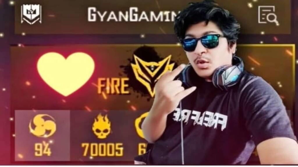 Gyan Gaming free fire id