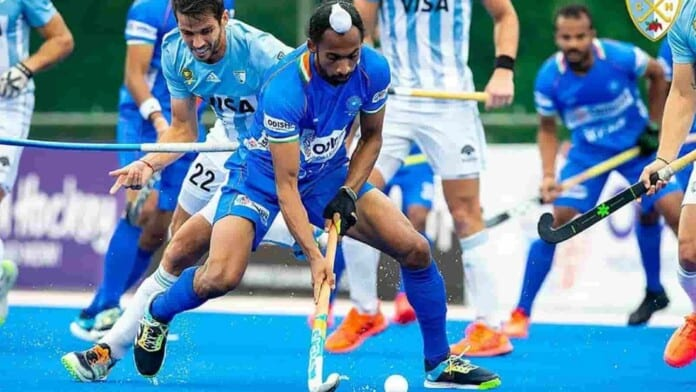 India vs Argentina Hockey