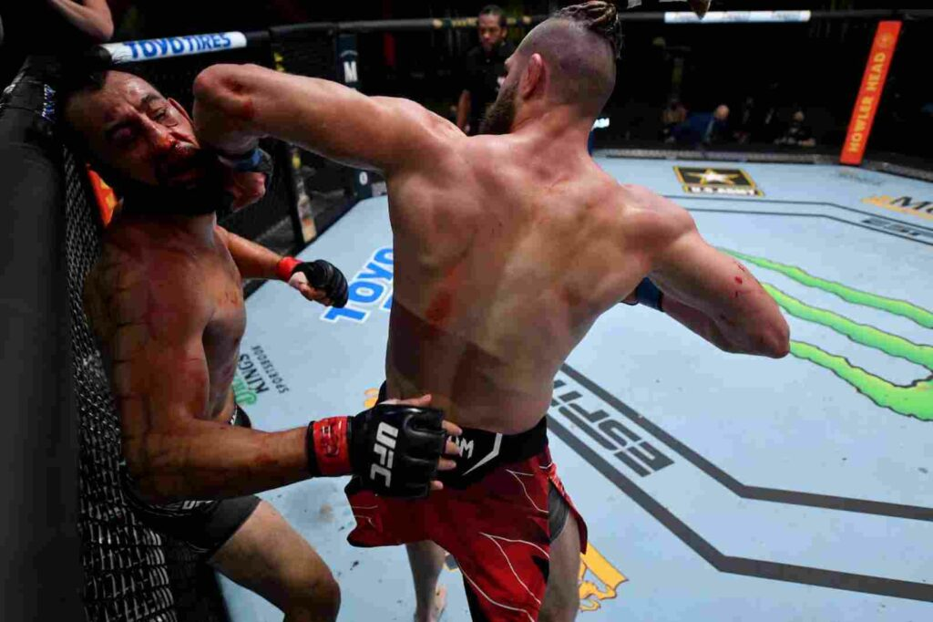 Jiri Prochazka elbow UFC Vegas 25