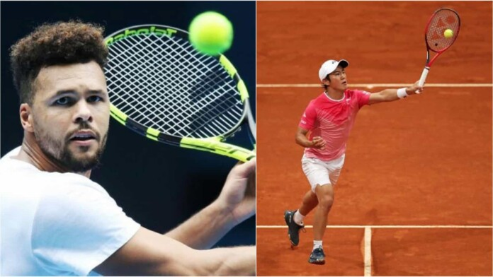 Jo-Wilfried Tsonga vs Yoshihito Nishioka will face off in the first round of the French Open 2021.
