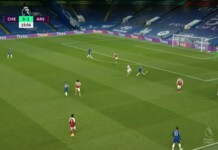 Jorginho's back pass almost results in a hilarious own-goal for Chelsea