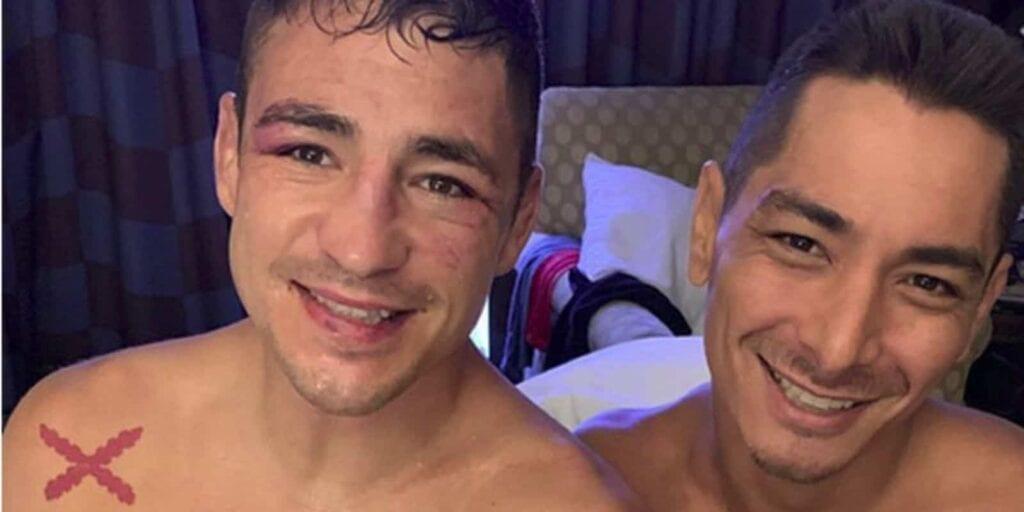 Joshua Fabia and Diego Sanchez