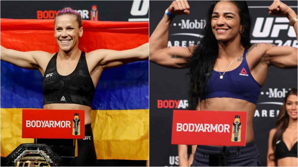 Katlyn Chookagian and Viviane Araujo UFC 262