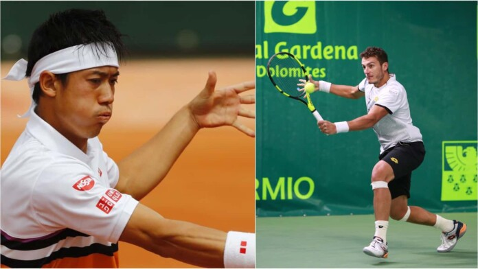 Kei Nishikori vs Alessandro Giannessi will meet in the 1st round of the French Open 2021