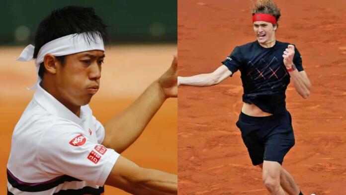 Kei Nishikori vs Alexander Zverev