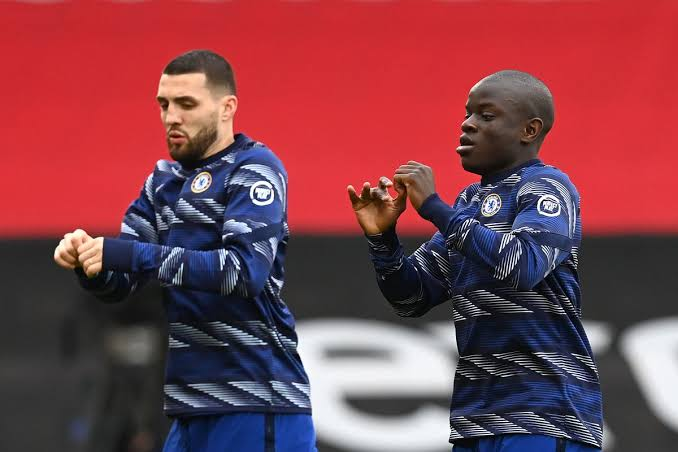 Kovacic and N Golo Kante are both fit once again - FirstSportz