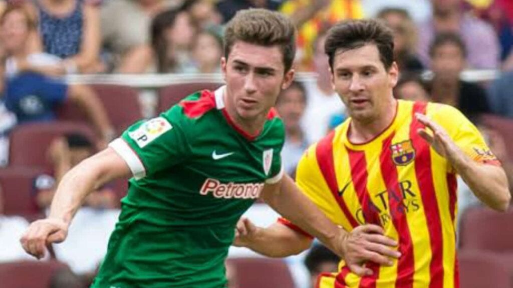 Laporte rose up the ranks at Athletic Bilbao, making him eligible to represent Spain.