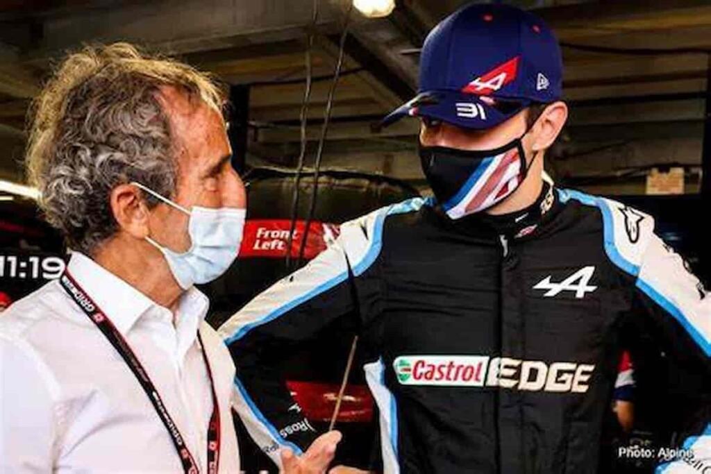 Laurent Rossi and Esteban Ocon 1 - FirstSportz