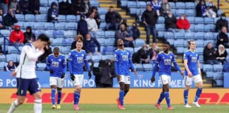 Leicester City lose 4-2 against Spurs in the final game of the Premier League