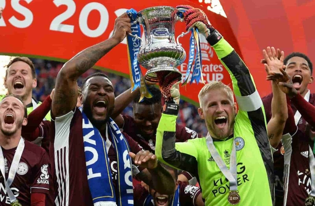 Leicester City winning the FA Cup - FirstSportz