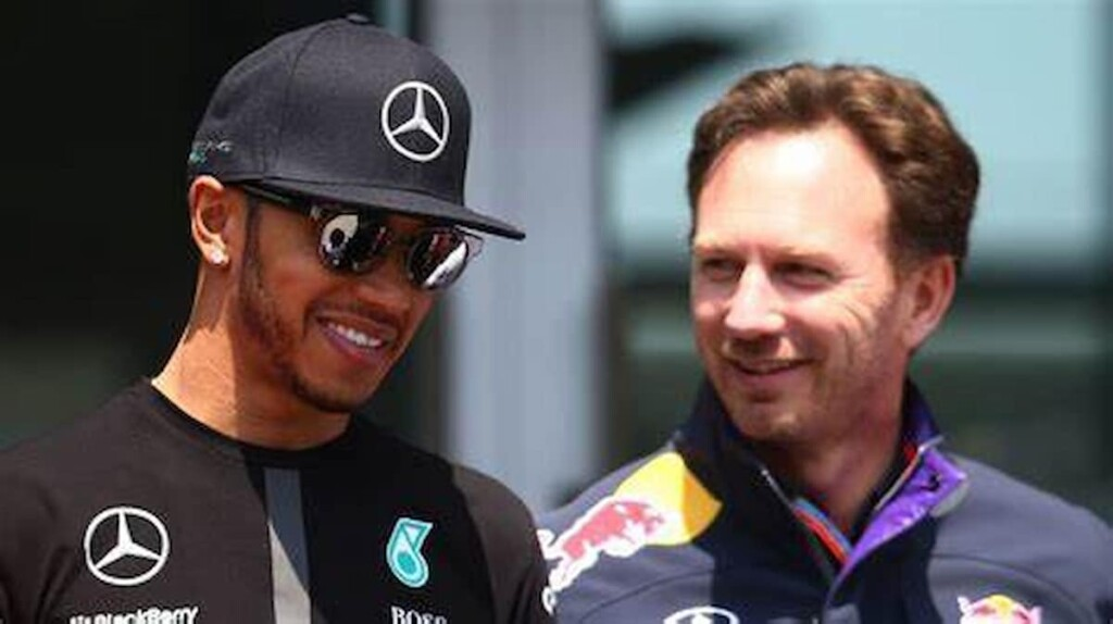 Lewis Hamilton and Christian Horner 1 1 - FirstSportz