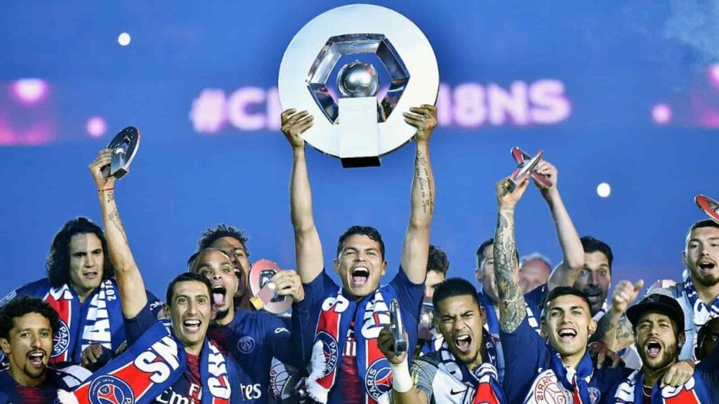 Ligue 1 title race-PSG