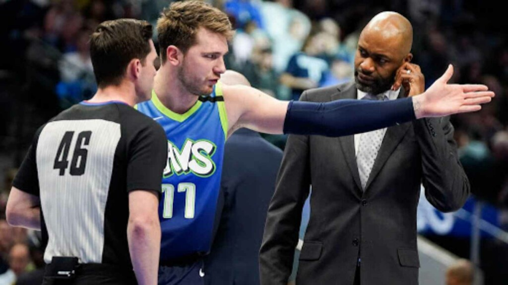 Luka Doncic back by father ahead of negative remarks