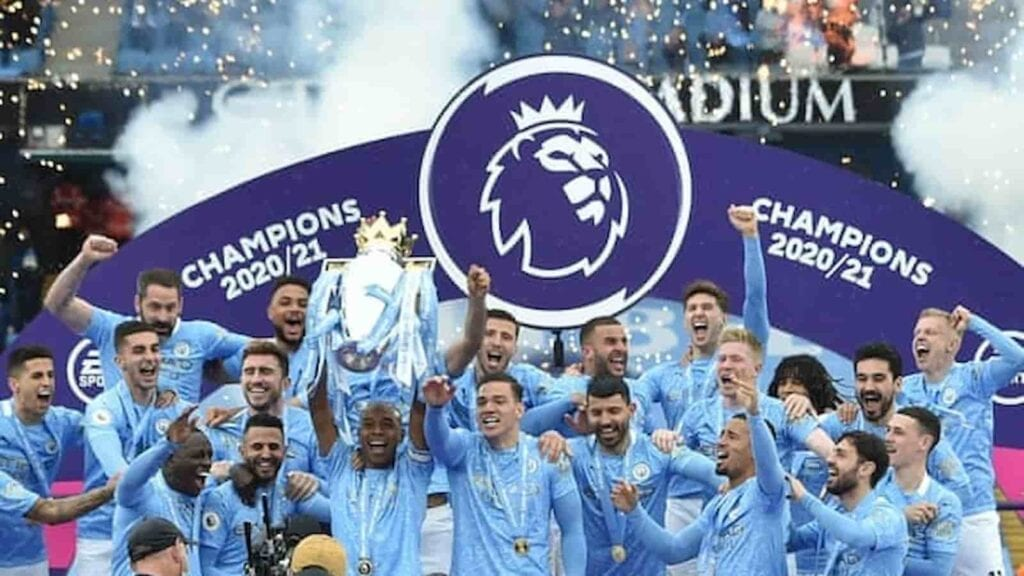 Manchester City crowned Premier League Champions for 2020-21