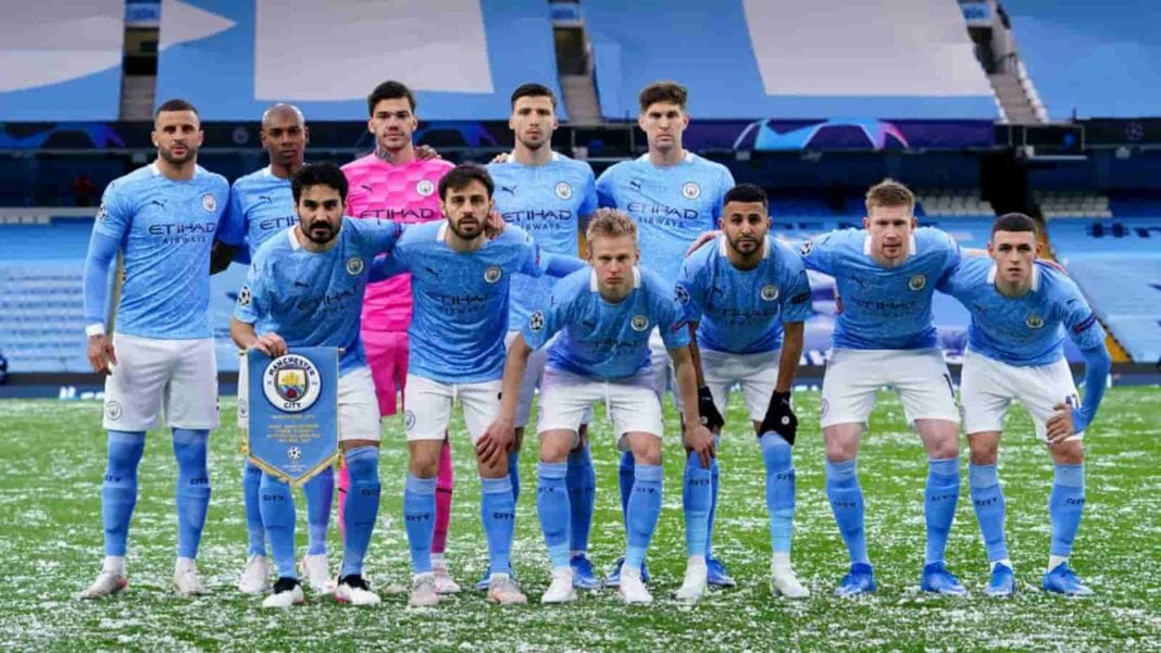 Manchester City players will make history for the club on Sunday