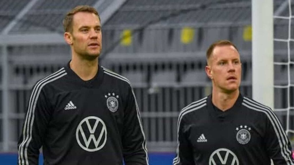 Marc Andre Ter Stegen and Neuer at Germany - FirstSportz