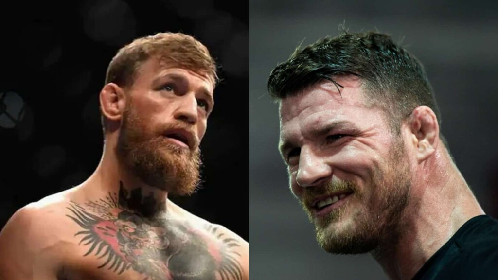 Michael Bisping and Conor McGregor