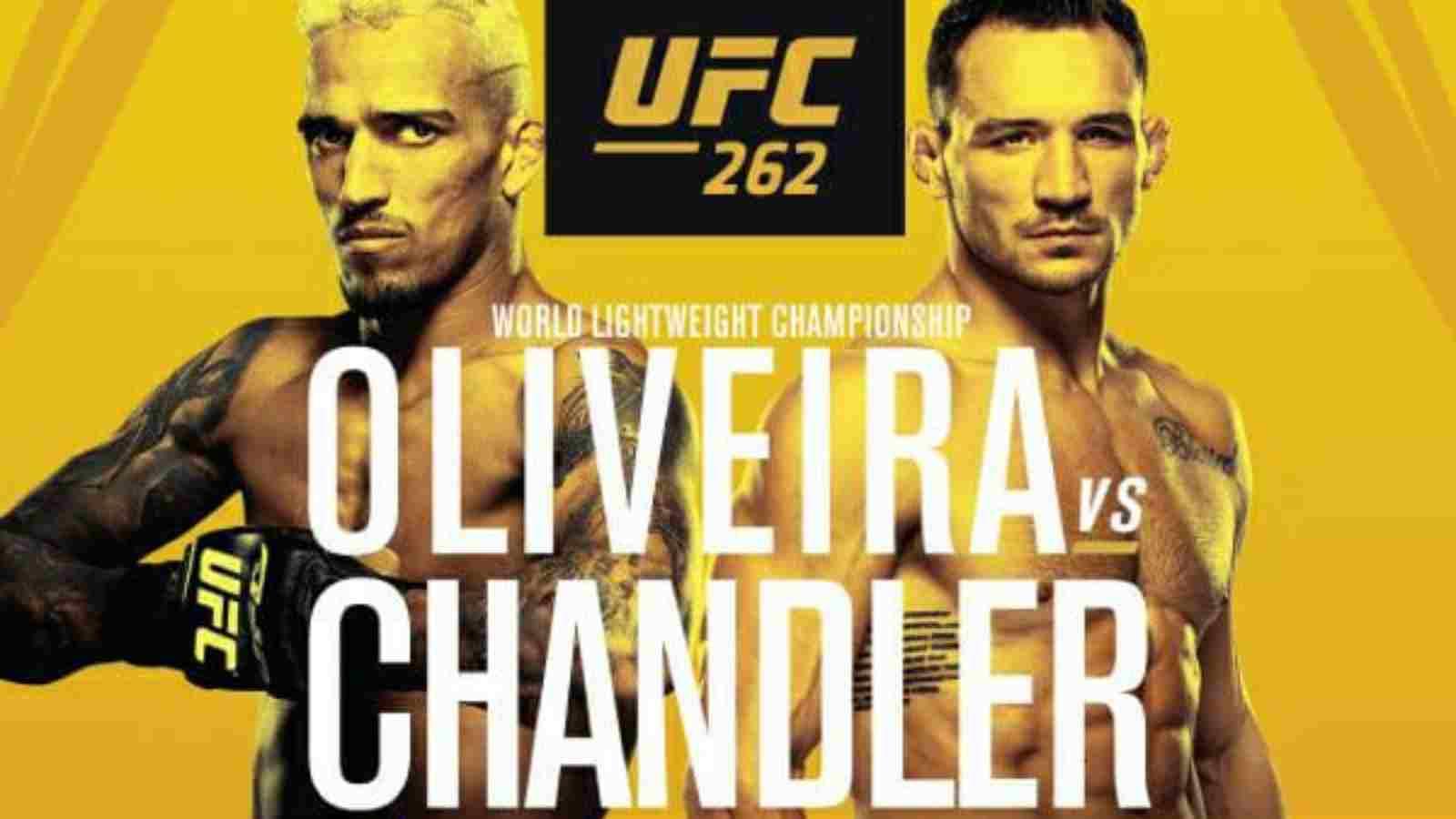 Michael Chandler vs Charles Oliveira