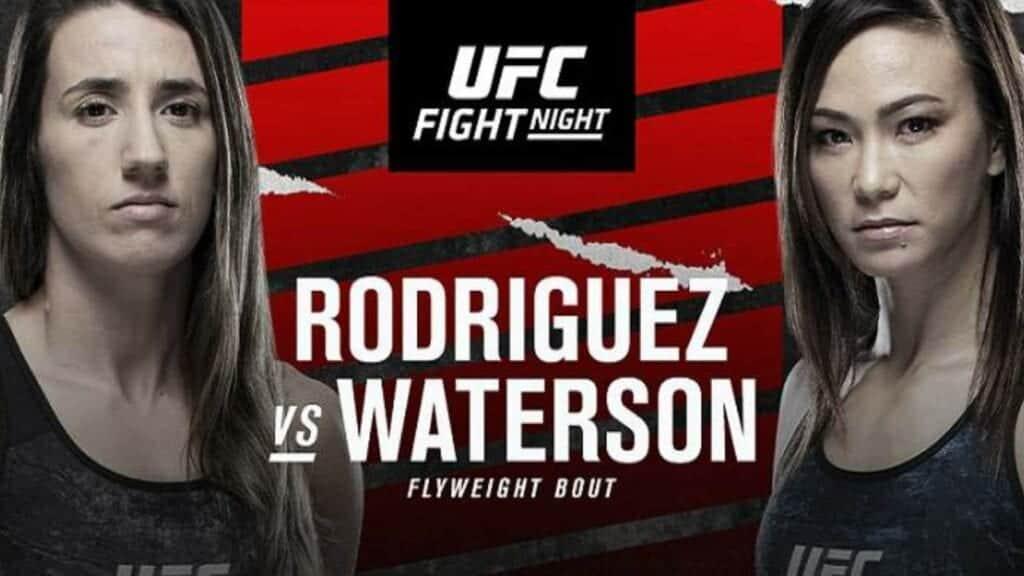 Michelle Waterson vs Marina Rodriguez