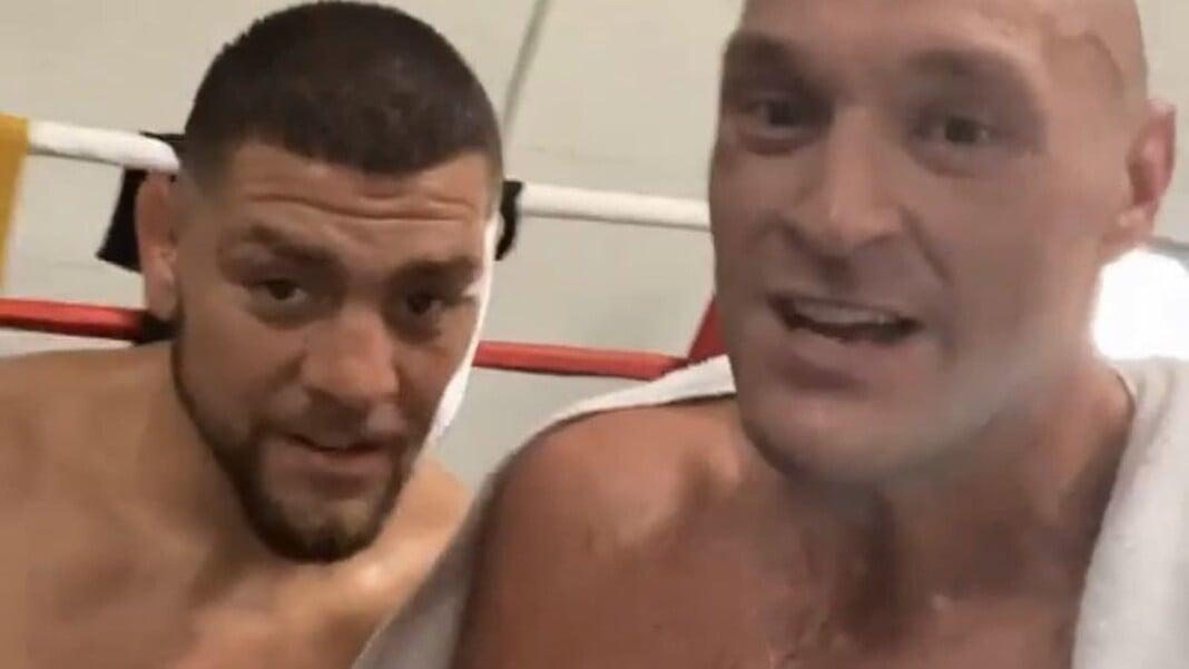 Nick Diaz and Tyson Fury