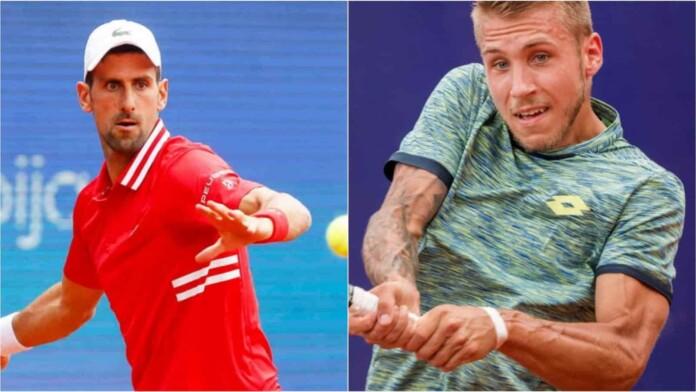 Novak Djokovic vs Alex Molcan