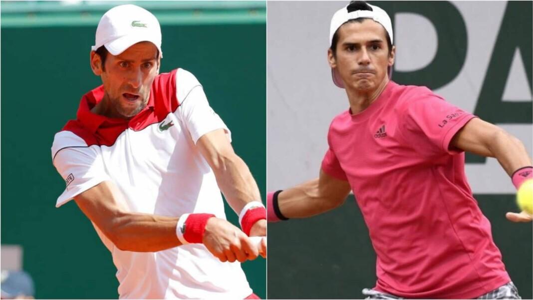 Novak Djokovic vs Federico Coria