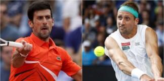 Novak Djokovic vs Tennys Sandgren