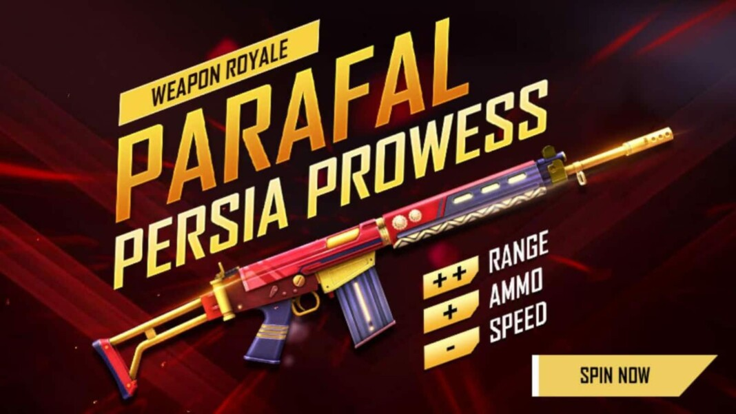 Parafal Persia Prowess in Free Fire