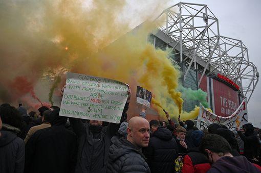 Protest outside OT - FirstSportz