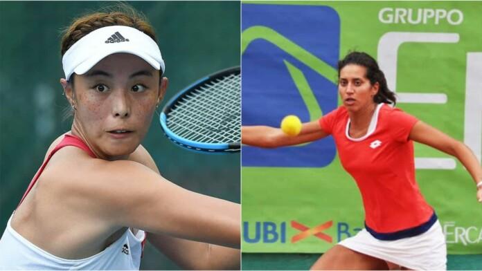 Qiang Wang vs Martina Di Giuseppe