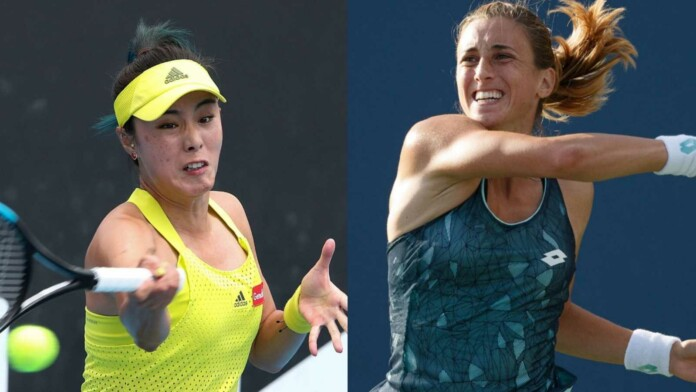 Qiang Wang vs Petra Martic