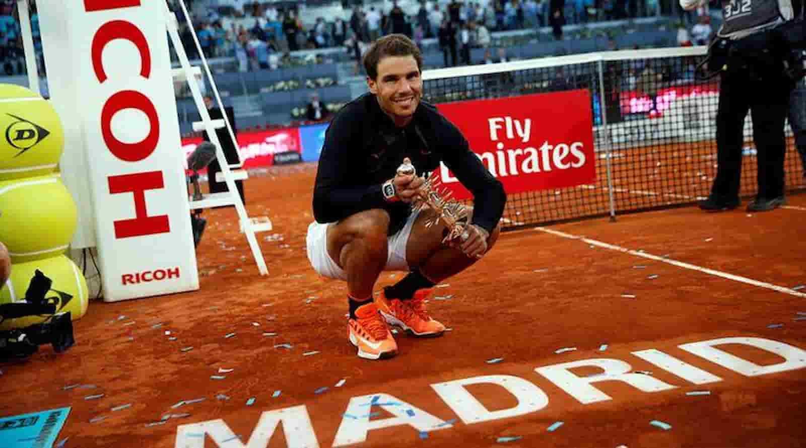 Rafael Nadal Madrid Masters 2021